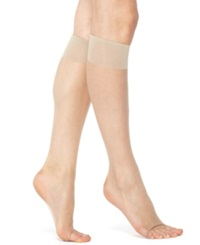 Berkshire Sheer Queen Toeless Knee Highs Hosiery Nude