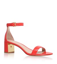 Tory Burch Cecile Patent Sandal Female Red