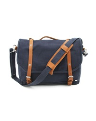 Sandqvist Izzy Navy Blue Messenger Bag