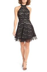 Fire Women's Lace Fit And Flare Dress
