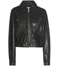 Mcq By Alexander Mcqueen Leather Jacket Black