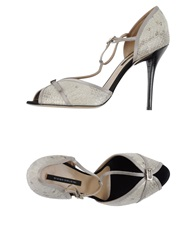 Diego Dolcini Sandals Light Grey