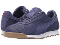 Puma Roma Emboss Checkered Crown Blue Women's Shoes