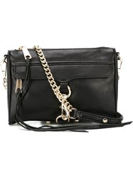 Rebecca Minkoff Gold Tone Hardware Crossbody Bag Black