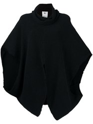 Lost And Found Rooms Reverse Poncho Black
