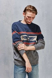 Pendleton Thunderbird Sweater Navy