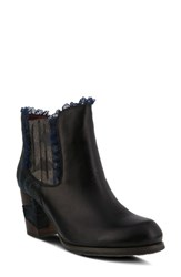 L Artiste Women's L'artiste Bata Bootie Black Leather