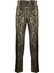 Dolce And Gabbana Tailored Cropped Trousers 60