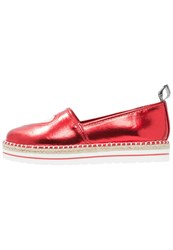 Love Moschino Heart Espadrilles Rosso Red