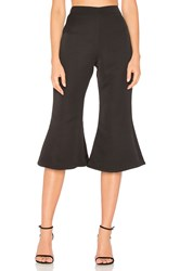 Paper London Capri Flare Black