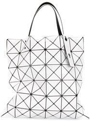 Issey Miyake Bao Bao Prism Tote Women Polyester One Size White