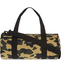 A Bathing Ape Camo Small Holdall Yellow