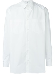 Carven Chest Pocket Shirt White