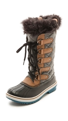 Sorel Tofino Faux Fur Lined Boots Grizzly Bear Siberia