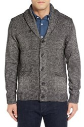 Nordstrom Cotton Blend Shawl Collar Cardigan Black