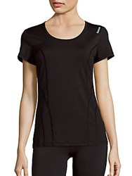 Reebok Dynamic Pop Short Sleeve T Shirt Black