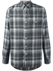 Polo Ralph Lauren Plaid Button Down Shirt Grey