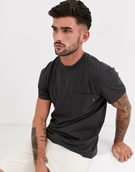 Jack And Jones Originals Boxy Fit T Shirt In Washed Black