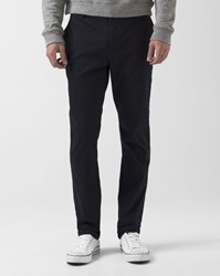 Eleven Paris Navy Blue Chaplin Chino Trousers