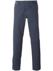 Eleventy Tapered Trousers Blue