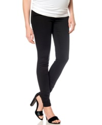 A Pea In The Pod Maternity Skinny Jeans Black Wash
