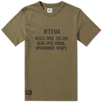 Wtaps Design 07 Tee Green