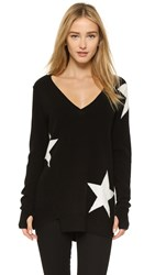 Pam And Gela V Neck Sweater Black
