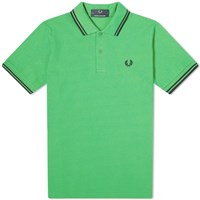 Fred Perry Reissues Original Twin Tipped Polo Green
