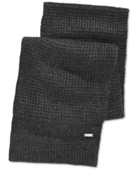 Ryan Seacrest Distinction Ryan Seacrest Waffle Knit Scarf Only At Macy's Charcoal
