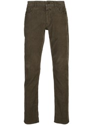 Closed Low Rise Corduroy Trousers 60