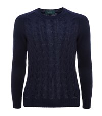 Slowear Wool Cable Knit Sweater Male