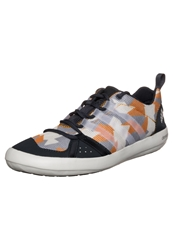 Adidas Performance Boat Lace Graphic Trainers Dark Grey Chalk White Orange