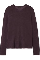 Atm Anthony Thomas Melillo Cashmere Sweater Burgundy