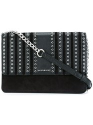 Michael Michael Kors Studded Crossbody Bag Black