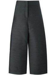 Ter Et Bantine Cropped Wide Leg Trousers Grey