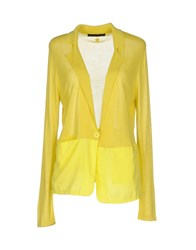 Cafe'noir Cafenoir Cardigans Yellow