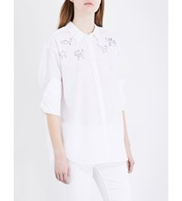 Closed X Jupe By Jackie Cotton Shirt White