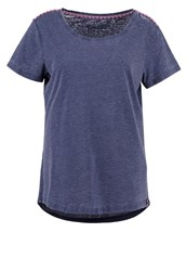 Esprit Sports Basic Tshirt Navy Dark Blue