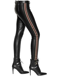 Faith Connexion Faux Leather Running Pants