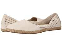 Ugg Tippie Antique White Nubuck Women's Flat Shoes Beige