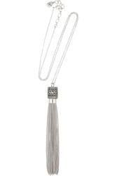 Kilian Chain Tassel Rhodium Plated Scented Necklace