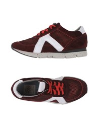 O.X.S. Footwear Low Tops And Trainers Women Maroon