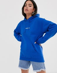 Adolescent Clothing Bored Of You Hoodie Blue