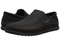 Crocs Santa Cruz Playa Slip On Black Black Slip On Shoes