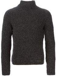 Emporio Armani Turtle Neck Sweater Black