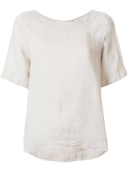 Xacus Loose Fit T Shirt Nude And Neutrals