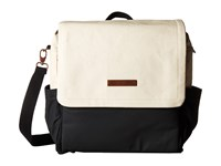 Petunia Pickle Bottom Glazed Color Block Boxy Backpack Birch Black Backpack Bags Bone