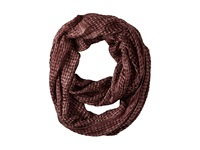 Bcbgeneration Whoa Woven Loop Brick Scarves Red