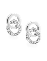 Kate Spade Infinity And Beyond Stud Earrings Silver