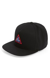 Obey 'Albany' Adjustable Canvas Ball Cap Black